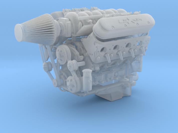 LS3/LSX 1/25 w/FAST complete 3d printed