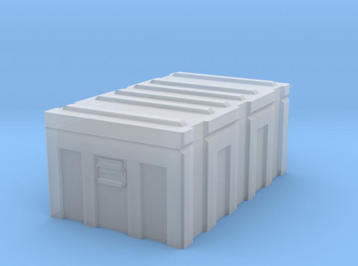 1/35 MILITARY FOOTLOCKER STORAGE BOX 3d printed