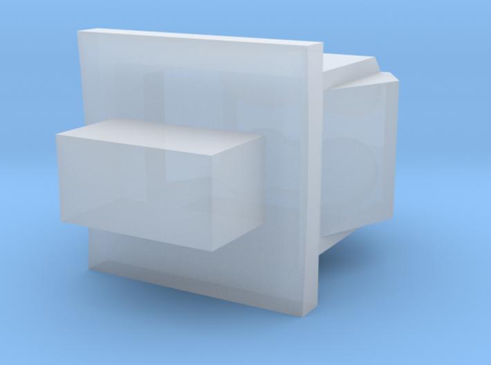 ServiceModule_RCS_Zenith_Nadir_Fore 3d printed