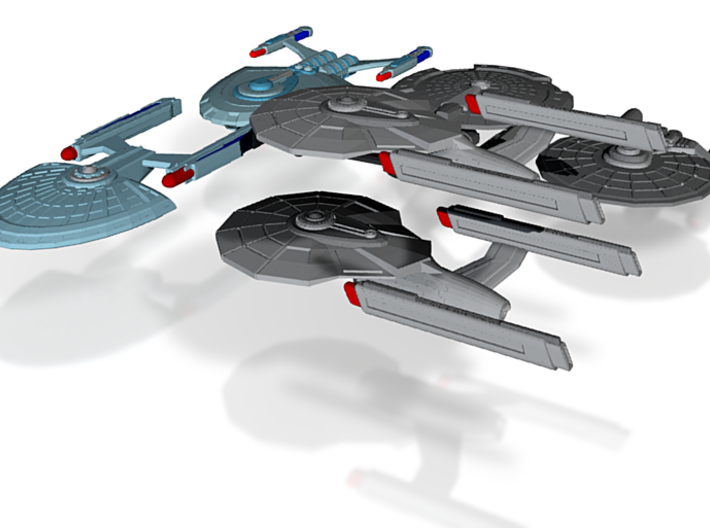 30th Fleet (Beta Sector) 3d printed