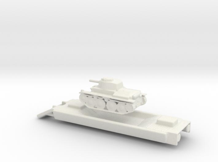 Panzerzüge Panzerträgerwagen armored train 1/144 3d printed
