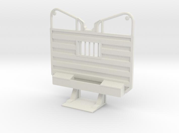 1/16th Waffle pattern logging ear headache rack 3d printed