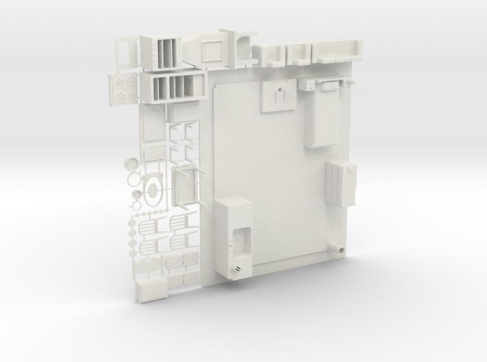 Oscale Plasticville Bungelow Interior #1c 3d printed