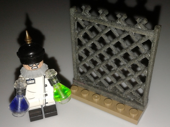 Four Chainlink Fence Set