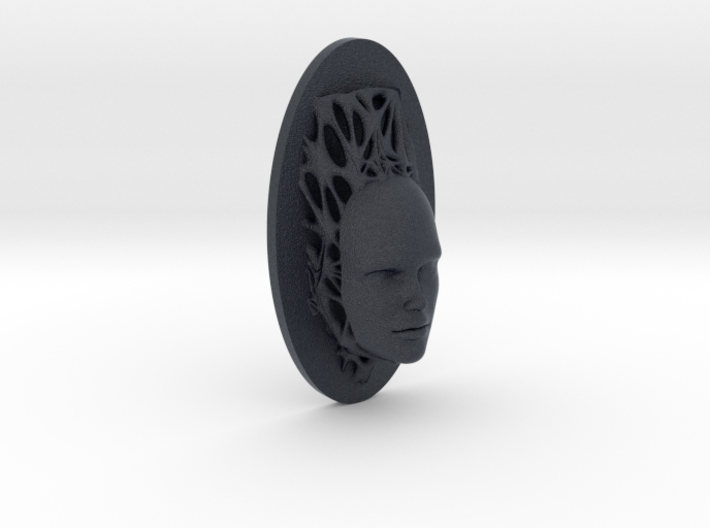 Woman Full Face + Voronoi Support 3d printed