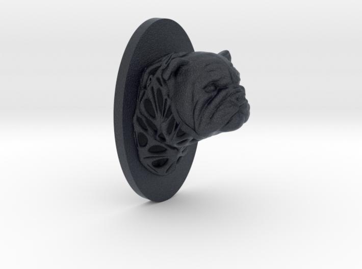 Bulldog Full Face + Voronoi Support 3d printed