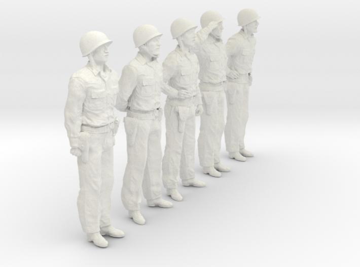 1/30 USN Officers Set423-01 3d printed