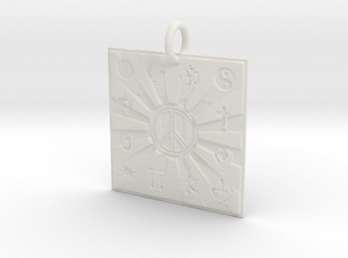 Unity Of Religions For World Peace 3d printed
