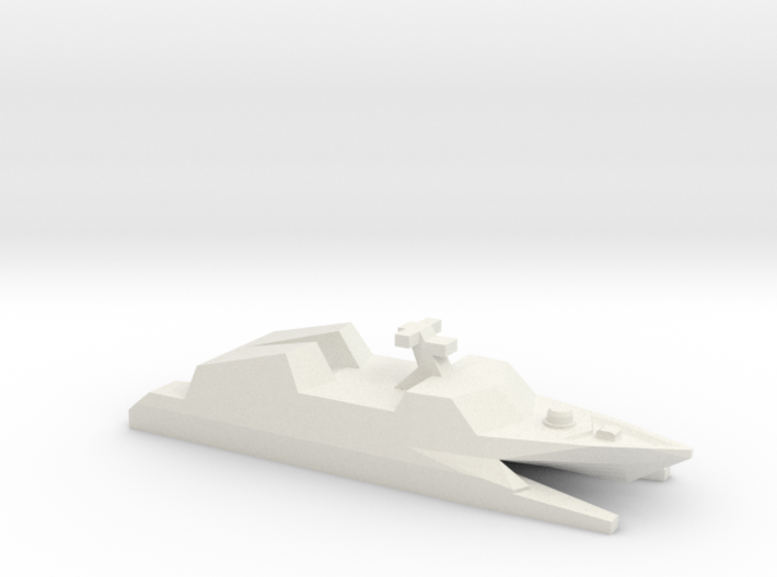 Type 022 missile boat, 1/1250 3d printed