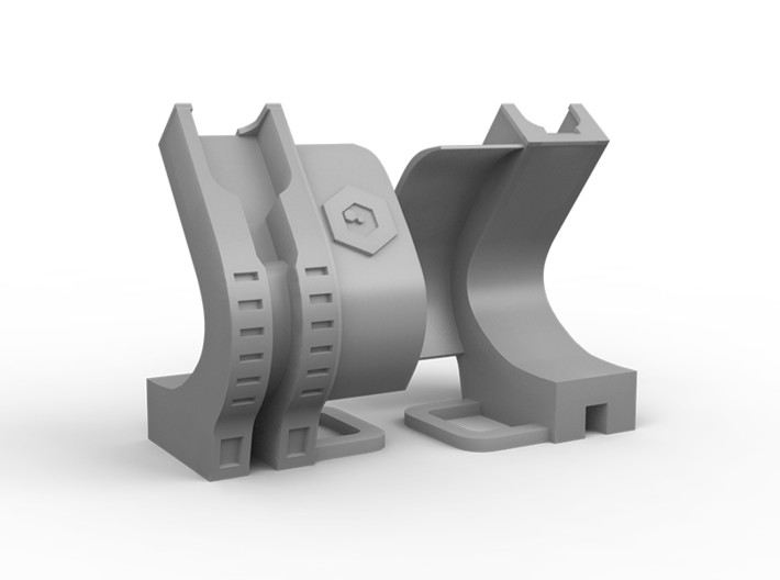 Xiaomi MiBand 3 Charging Dock 3d printed Front and back