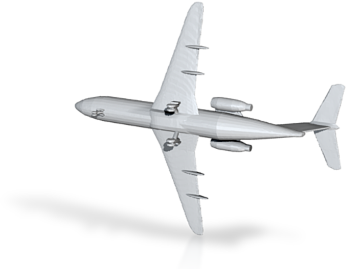 1:500 Fokker F-28 Mk. 3000 3d printed