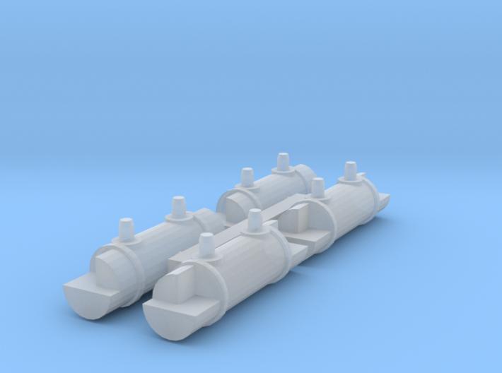 4 Ersatz-Gasbehälter (N 1:160) 3d printed