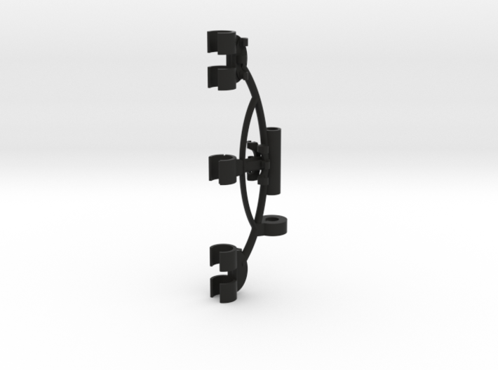 Blumlein Stereo Microphone Mount for RM BIV-1 3d printed