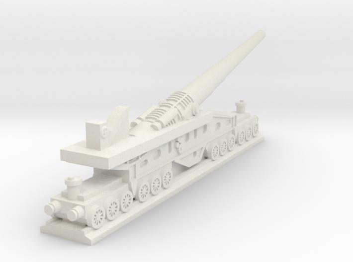 340mm/45 Modèle 1912 Railroad Gun (France) 3d printed