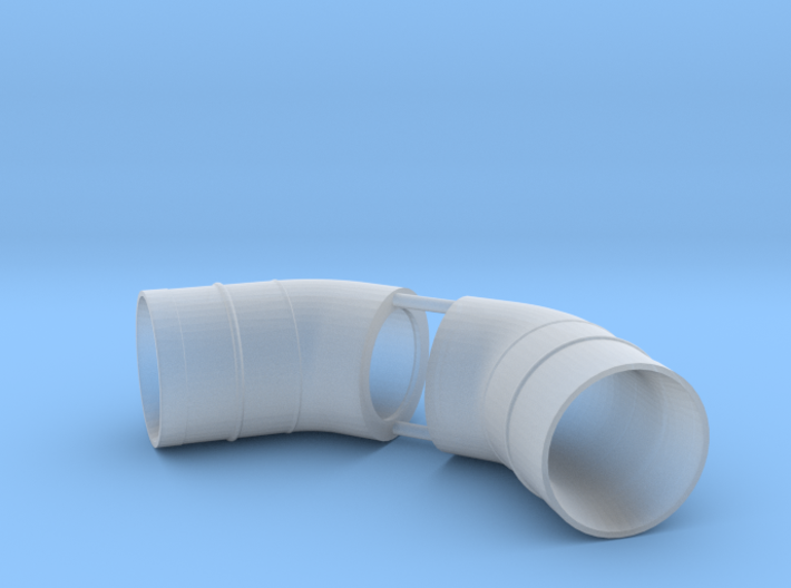 Westland Wessex Exhaust (pair) 1:32 3d printed