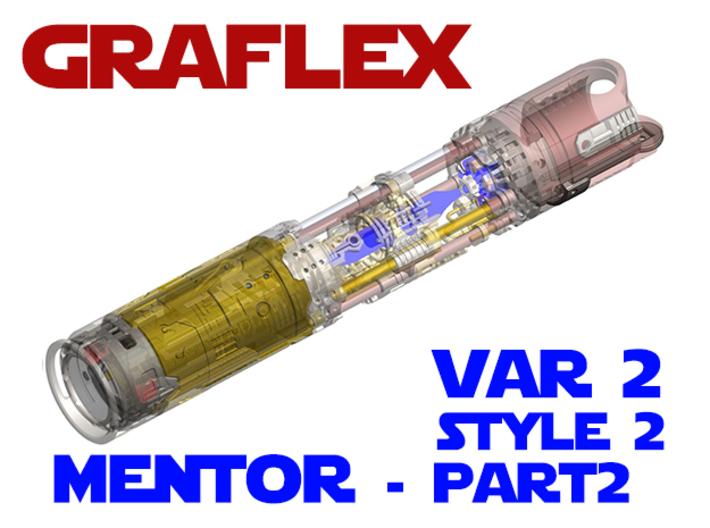 Graflex Mentor - Var2 Part02 - Switches Style2 3d printed