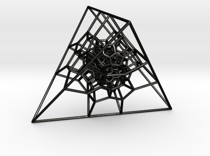Tetrahedral 120-Cell 3d printed