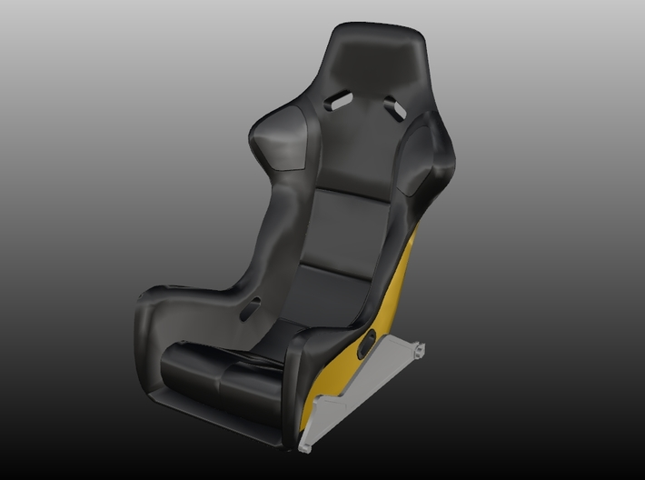 Race Seat RType 8 - 1/10 3d printed