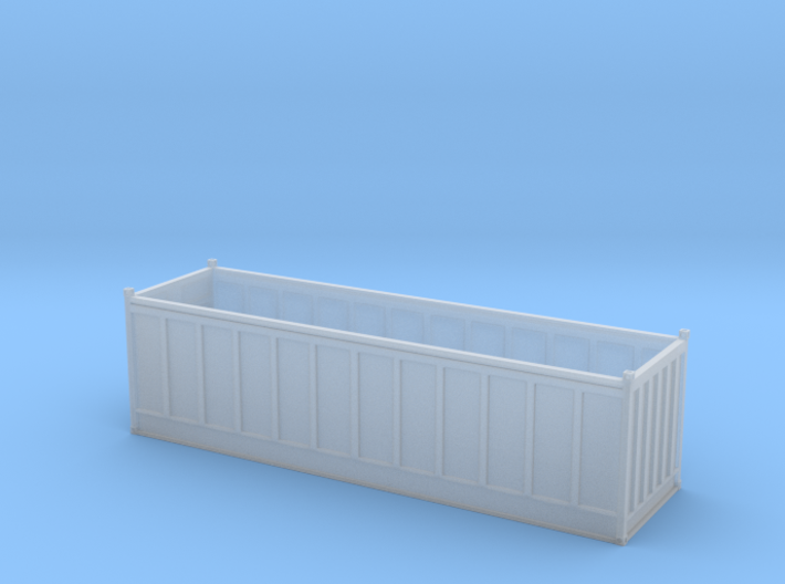 30ft Open Top Container 3d printed