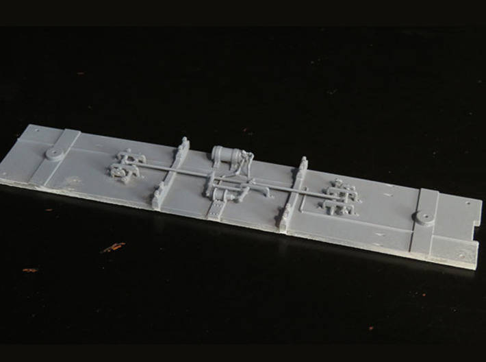 D&RGW vestibule coach floor 3d printed Shown printed and primed only
