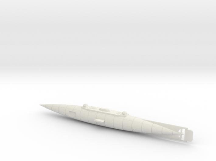 The Original Nautilus Submarine by Jules Verne 3d printed