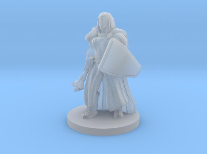 Battle Nun 3d printed