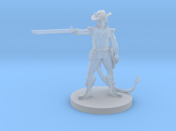 Tiefling Gun Arm Gunslinger 3d printed