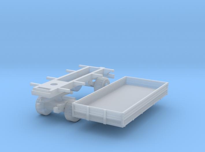 Agricultural trailer (N 1:160) 3d printed