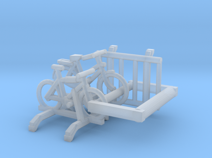 SET 3 Carriers for cars​ (N 1:160) 3d printed