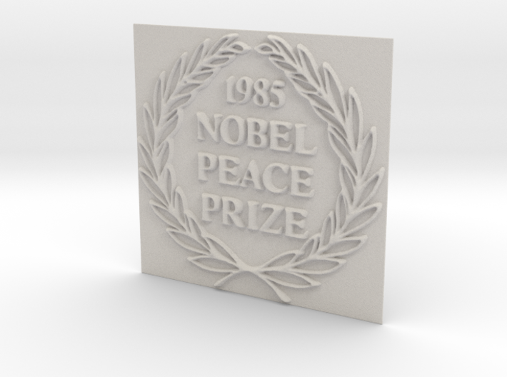 The 1985 Peace Nobel Prize 3d printed
