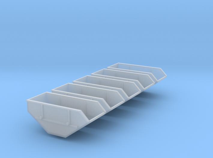 5x Mulde-10qm (1/220) 3d printed