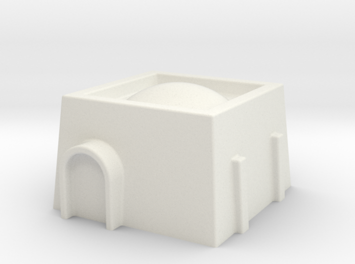6mm Scale Star Wars Style Desert Dwelling 3d printed