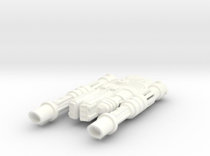 Frawgarrian Starship Rocketzone 3d printed