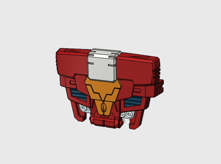 Sparky chest plate for POTP Inferno 3d printed