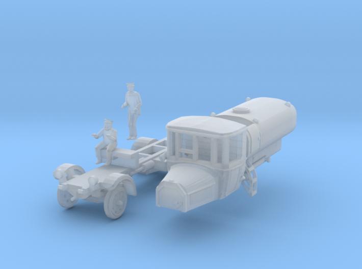 Daimler Sprengwagen mit Besatzung (TT 1:120) 3d printed