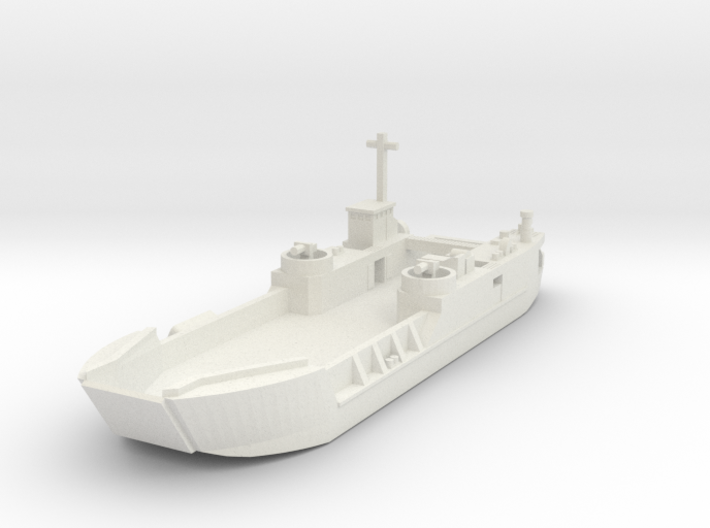 1/700 LCT6 full hull 3d printed