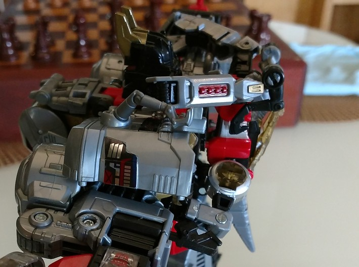TF Volcanicus + Slash 3d printed