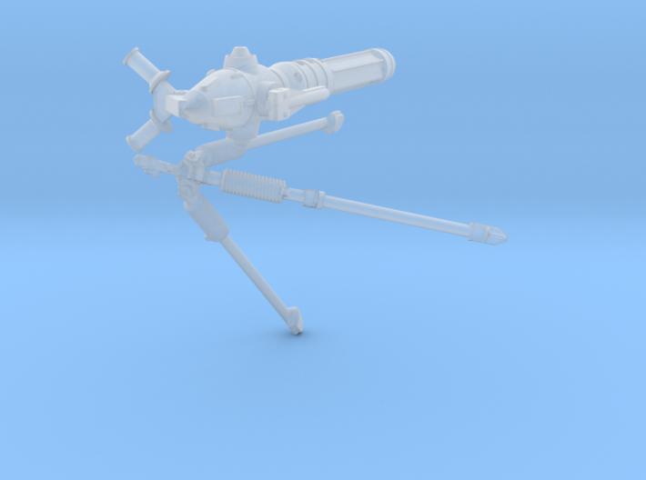 1/35 Sci-Fi Blaster Cannon MkII Set001 3d printed