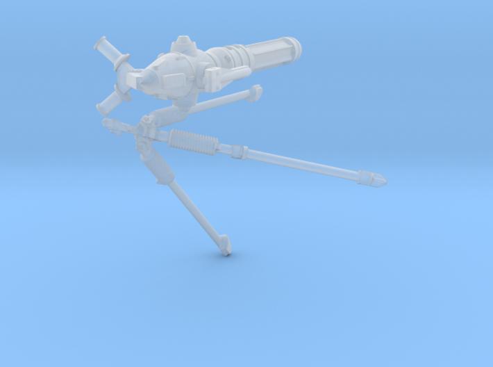 1/24 Sci-Fi Blaster Cannon MkII Set001 3d printed