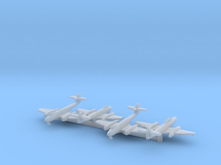Meteor F.8 x3 + NF w/Gear (FUD) 3d printed