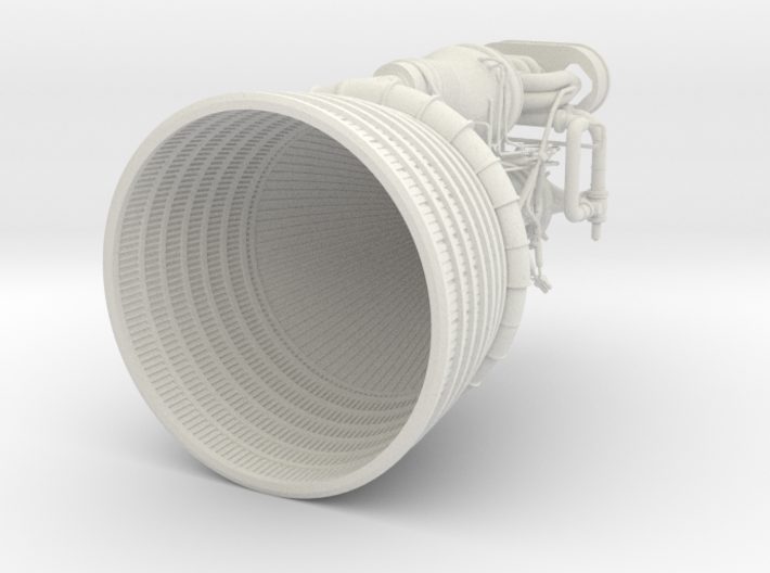 F1 Engine-1:48 Scale 3d printed