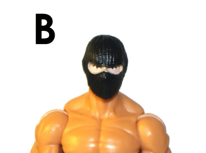 """1:18 Scale Action Figure MALE Neck Barbell Adapter 3d printed Peg """"B"""" Sample"""