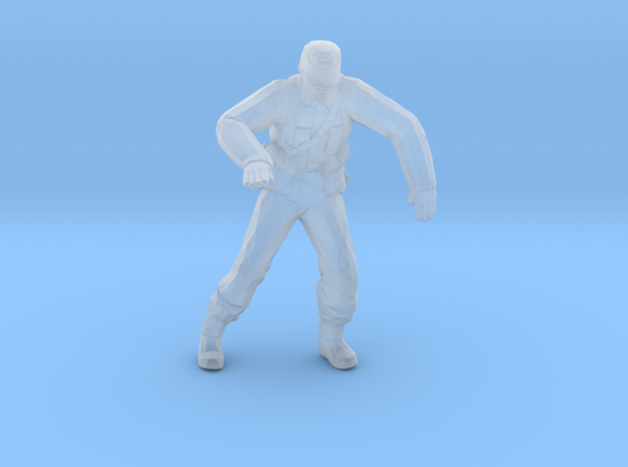 Nazi Zombie Officer 3d printed