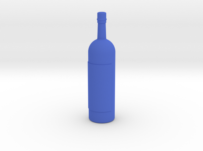 Wine Bottle 1:6 scale 3d printed