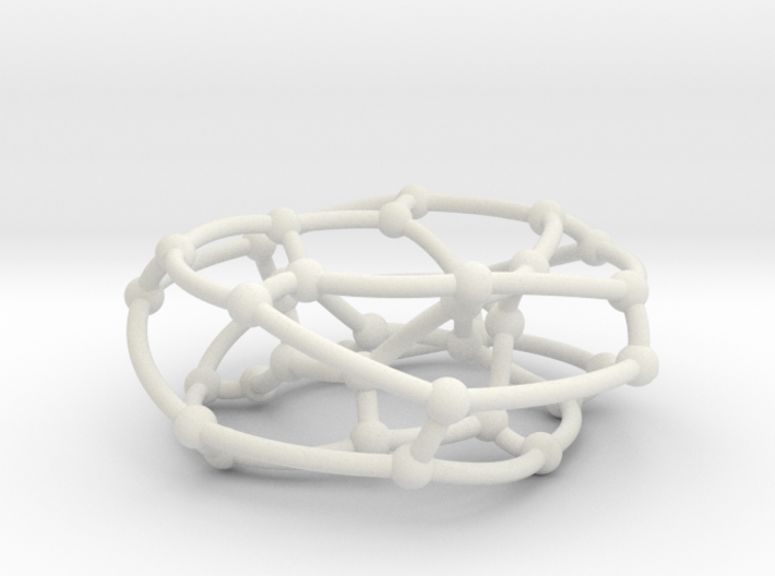 F38A graph on torus 3d printed
