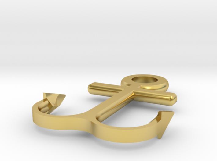 Anchor bracelet 3d printed