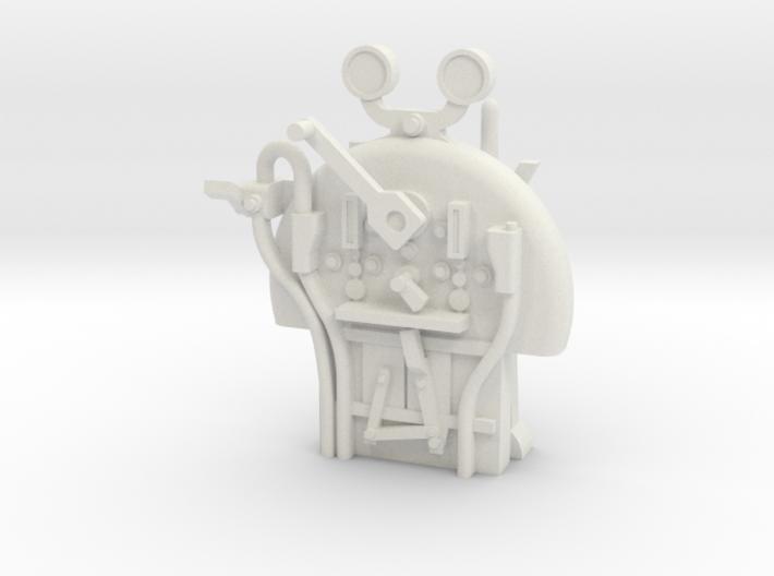 S Scale - FR E1 J1 - Backhead Controls 3d printed