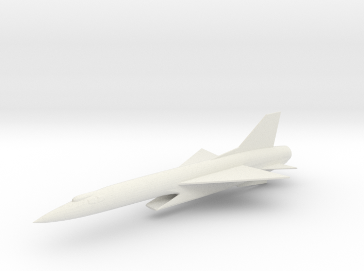 Republic F-103E Thunderwarrior Interceptor 3d printed