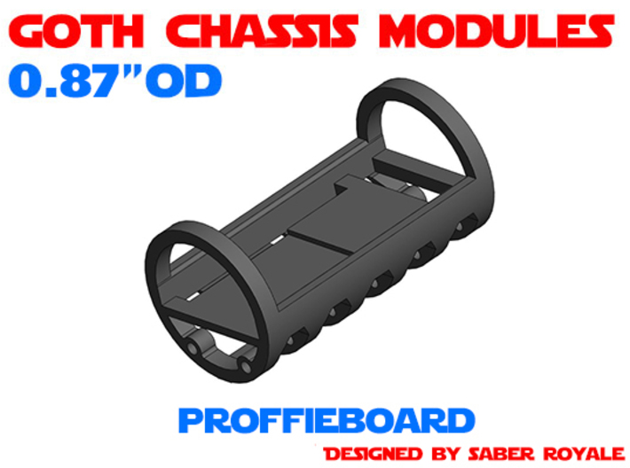 GCM087 - Proffieboard chassis 3d printed
