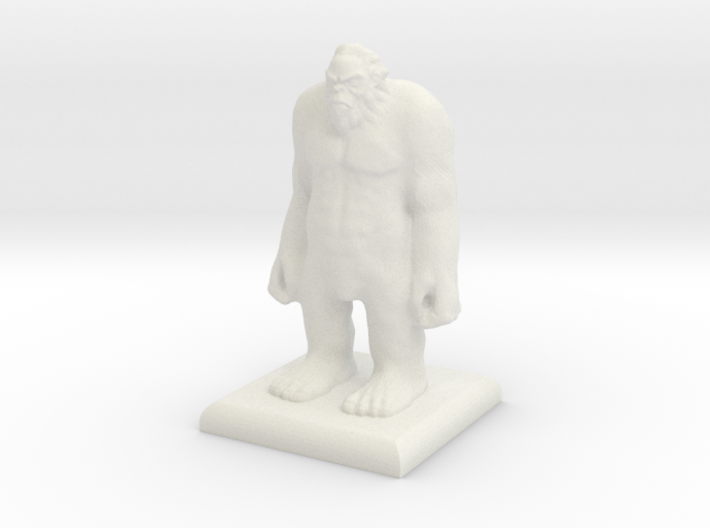 Big Foot Sasquatch 3d printed